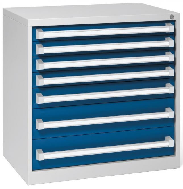 Ladenkast WS PROFI werkplaatssysteem 4 x 75, 1 x 100, 2 x 150 mm