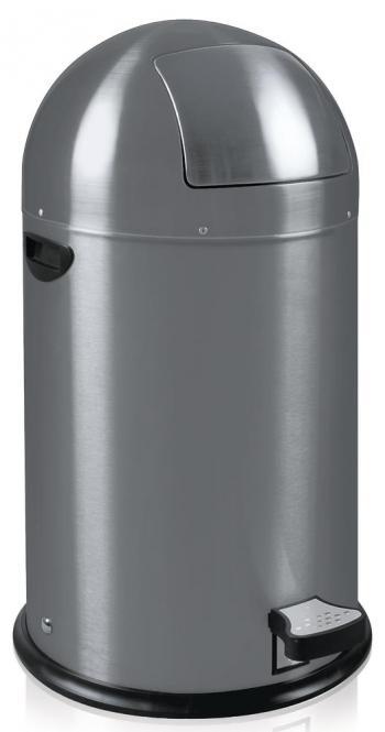 Afvalbak Kick-Bin grijs