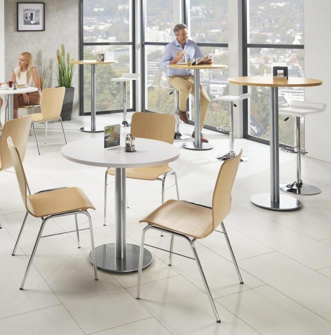Kantine tafelsysteem PARMA ROND
