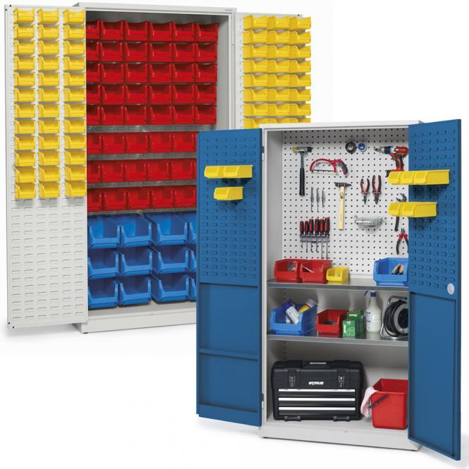 Werkplaatskast voor magazijnbakken WS PROFI werkplaatssysteem
