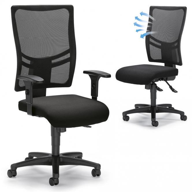 Bureaustoel COMFORT R NET BIG
