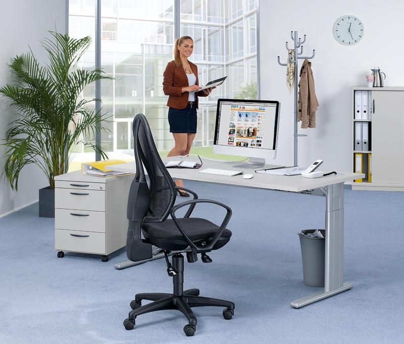 bureau set 1 multi modul gemakkelijk online bestellen bij delta v bureaumeubilair. Black Bedroom Furniture Sets. Home Design Ideas