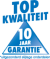 Wij verlenen U 10 jaar garantie - uitgezonderd slijtage onderdelen