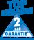 Wij verlenen U 2 jaar garantie - uitgezonderd slijtage onderdelen