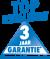 Wij verlenen U 3 jaar garantie - uitgezonderd slijtage onderdelen