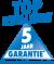Wij verlenen U 5 jaar garantie - uitgezonderd slijtage onderdelen