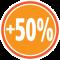 +50% meer opbergruimte