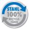 100% recycleerbaar