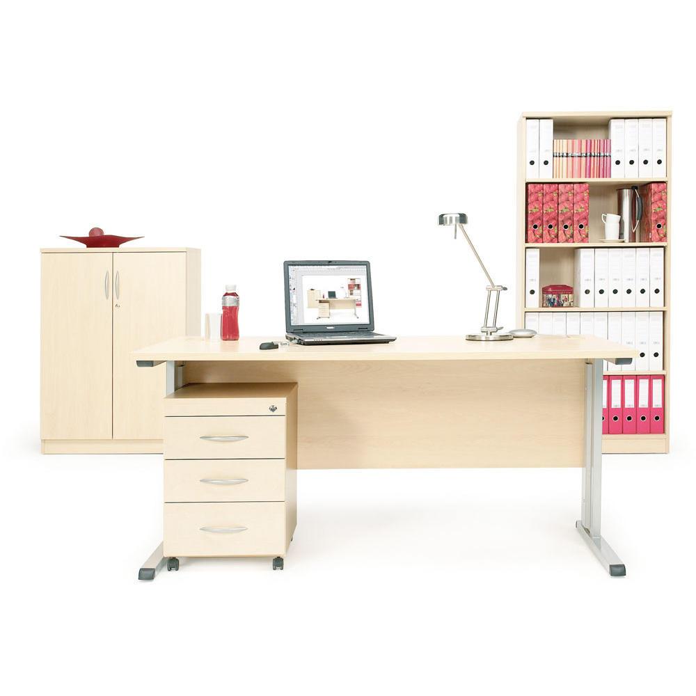 bureau set 2 multi modul gemakkelijk online bestellen bij delta v bureaumeubilair. Black Bedroom Furniture Sets. Home Design Ideas